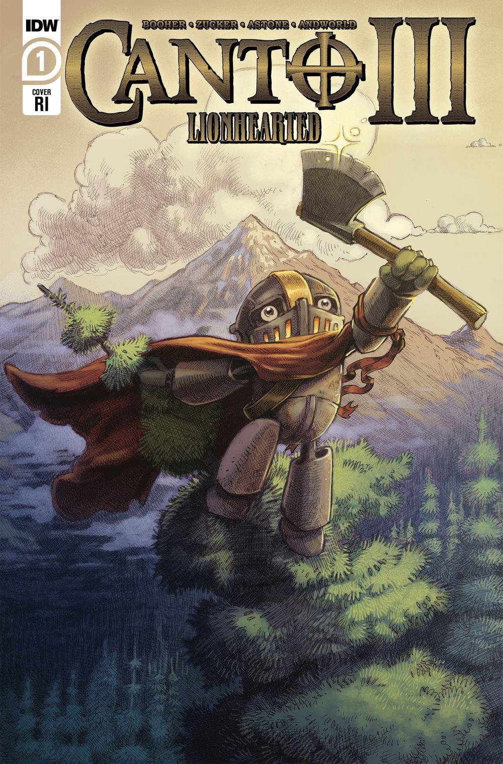 Canto-Lionhearted01_cvrRI ComicList Previews: CANTO III LIONHEARTED #1 (OF 6)