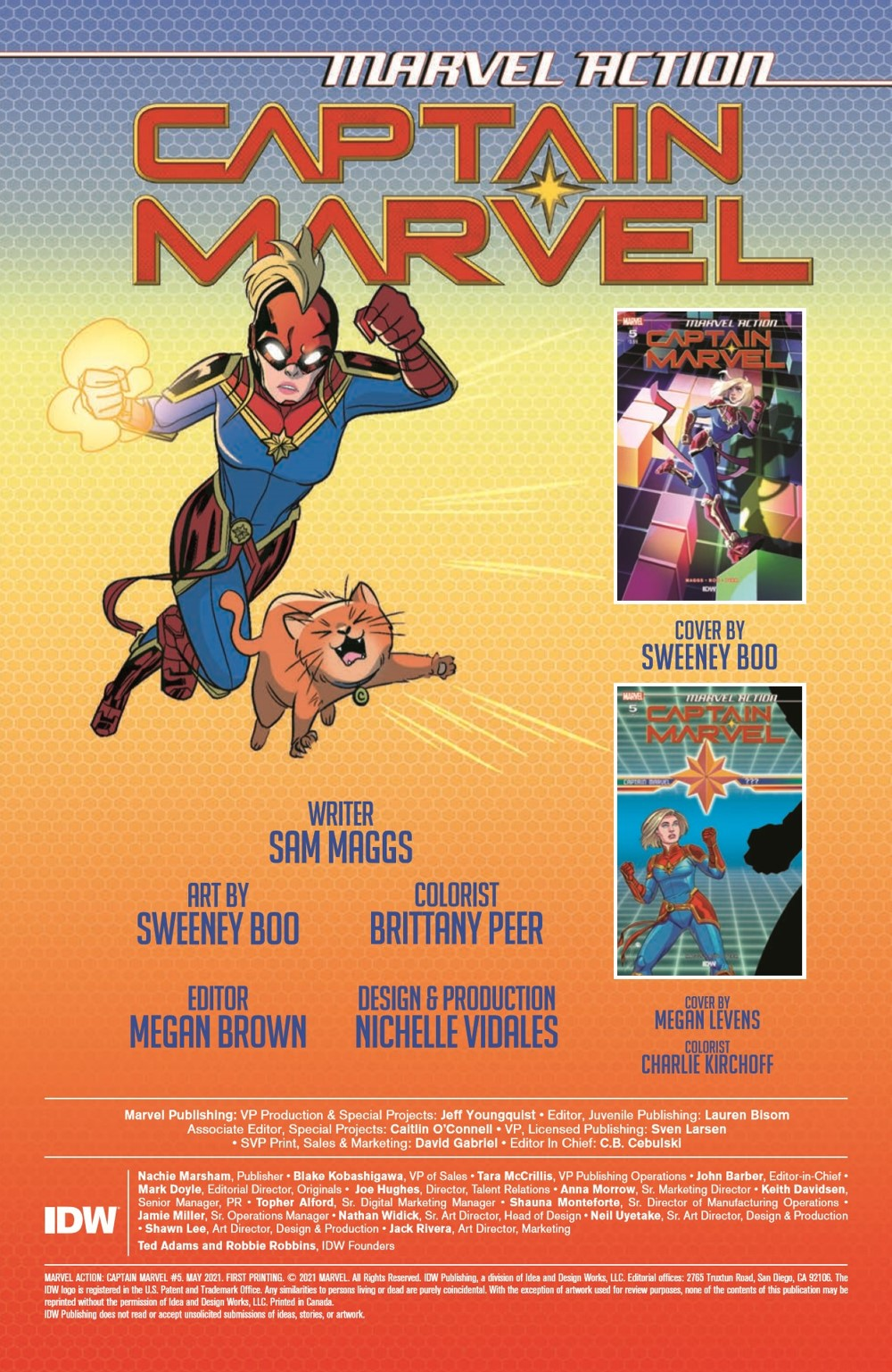 CaptainMarvel2_05_pr-2 ComicList Previews: MARVEL ACTION CAPTAIN MARVEL VOLUME 2 #5