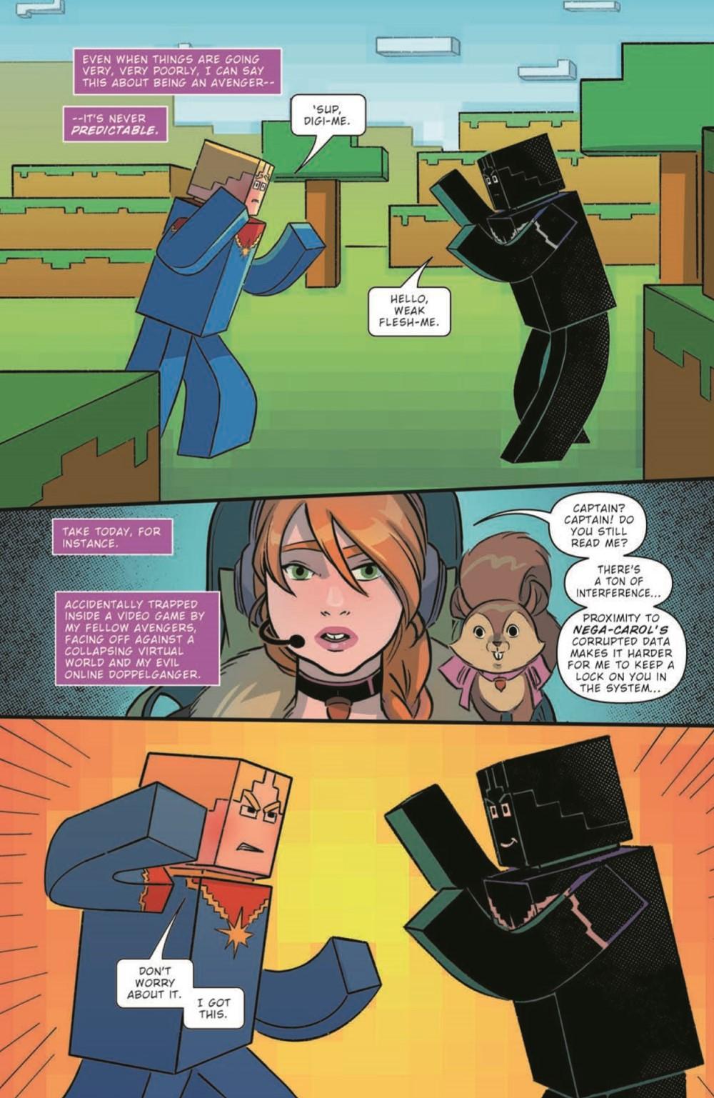 CaptainMarvel2_05_pr-3 ComicList Previews: MARVEL ACTION CAPTAIN MARVEL VOLUME 2 #5