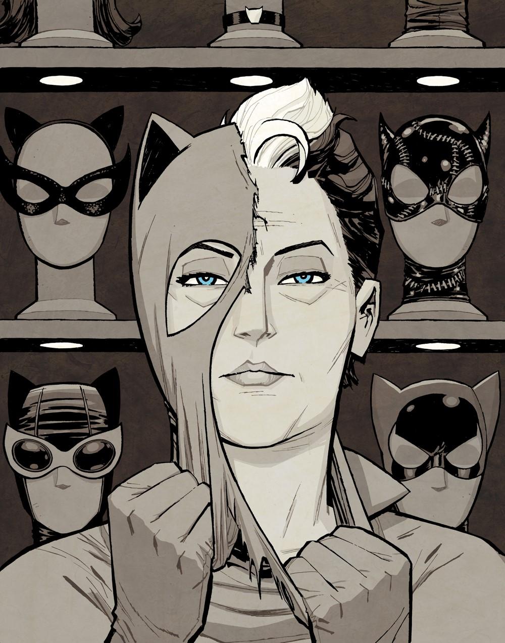 Catwoman-1-coverVARIANT DC Comics October 2021 Solicitations