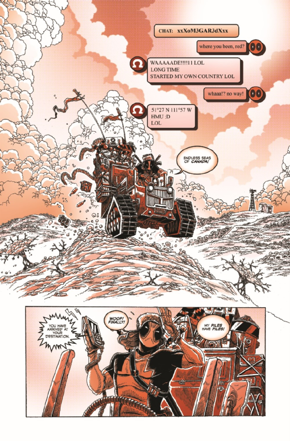 DPOOLBLKWHBL2021001_Preview-6 ComicList Previews: DEADPOOL BLACK WHITE AND BLOOD #1 (OF 4)