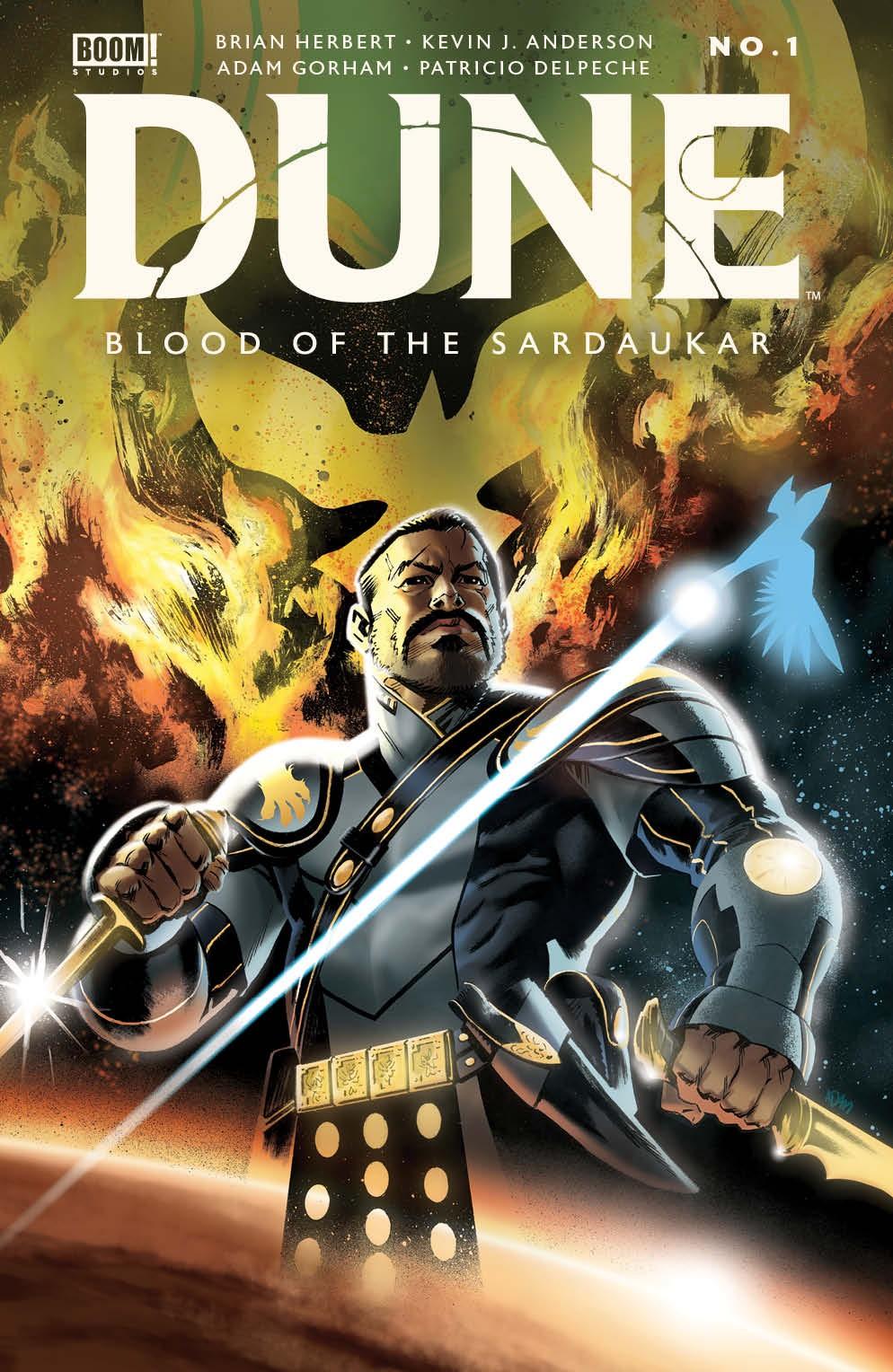 Dune_BloodSardaukar_001_Cover_B_Variant ComicList Previews: DUNE BLOOD OF THE SARDAUKAR #1