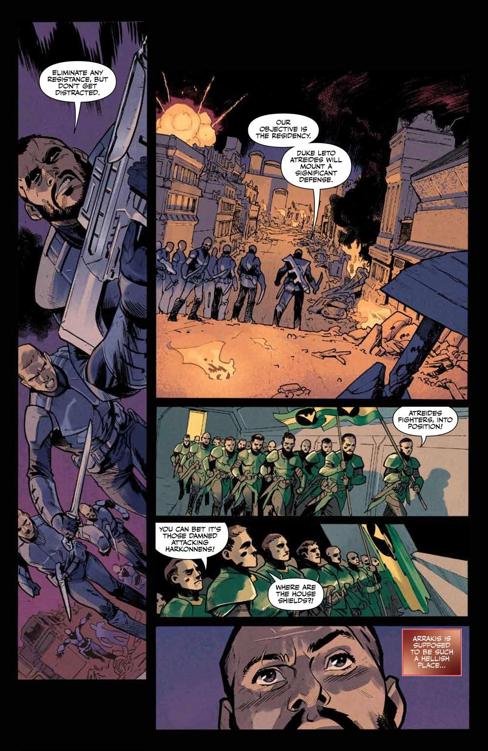 Dune_BloodSardaukar_001_PRESS_6 ComicList Previews: DUNE BLOOD OF THE SARDAUKAR #1