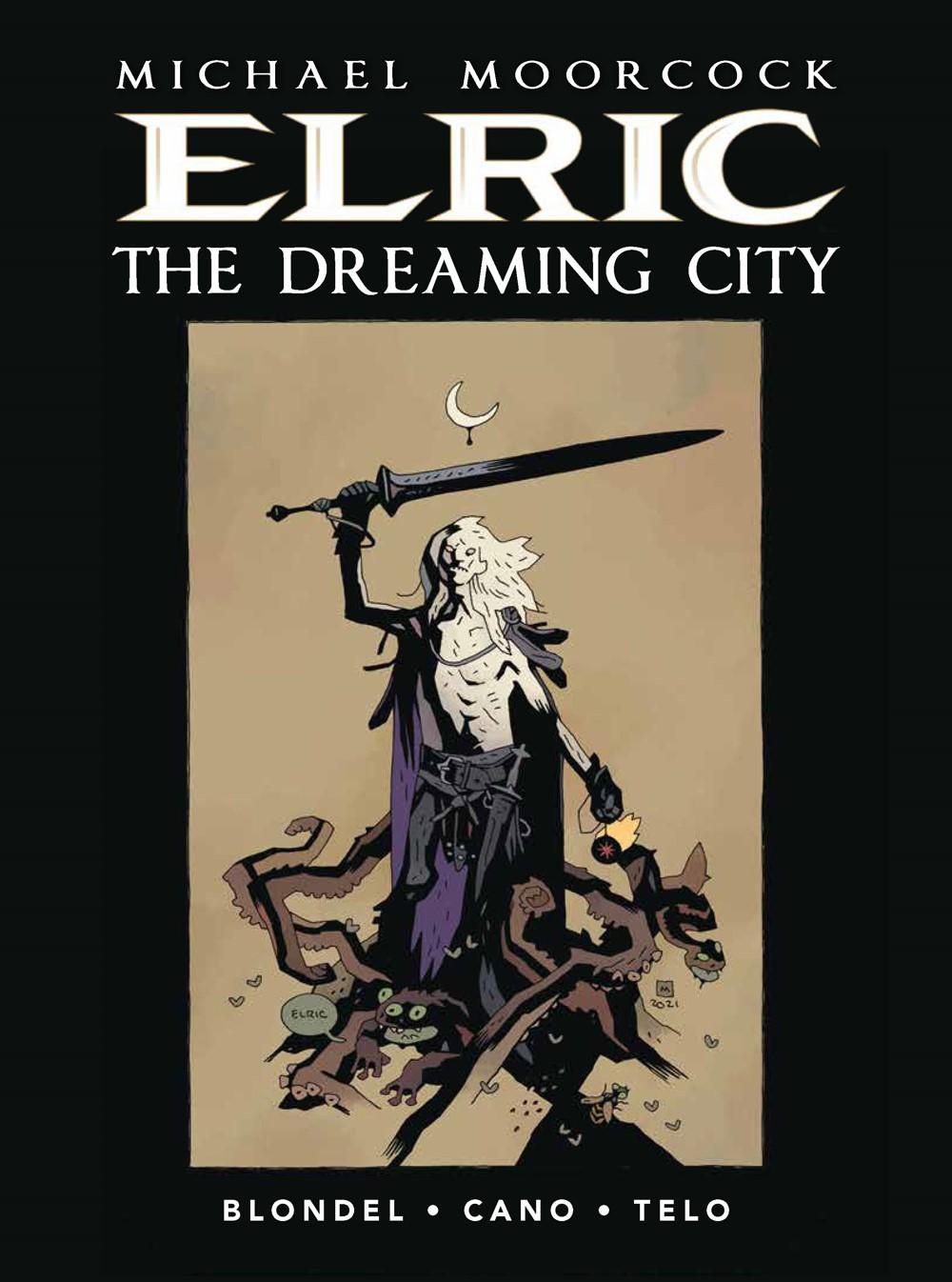 ELRIC-THE-DREAMING-CITY-HC-MIGNOLA-PX Titan Comics October 2021 Solicitations