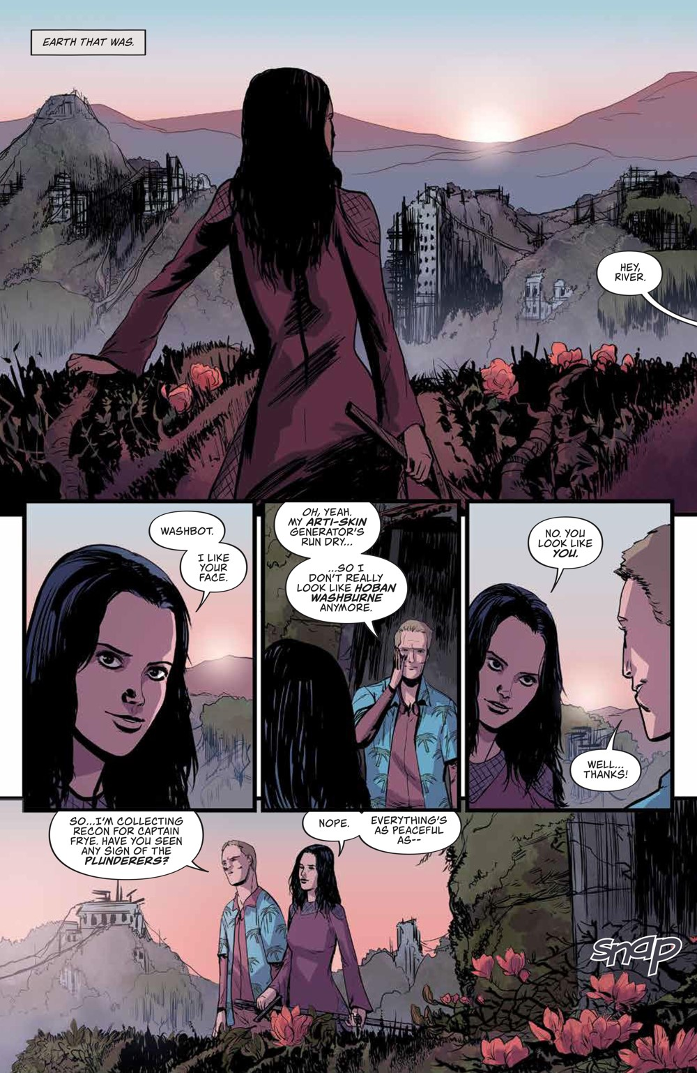 Firefly_031_PRESS_3 ComicList Previews: FIREFLY #31
