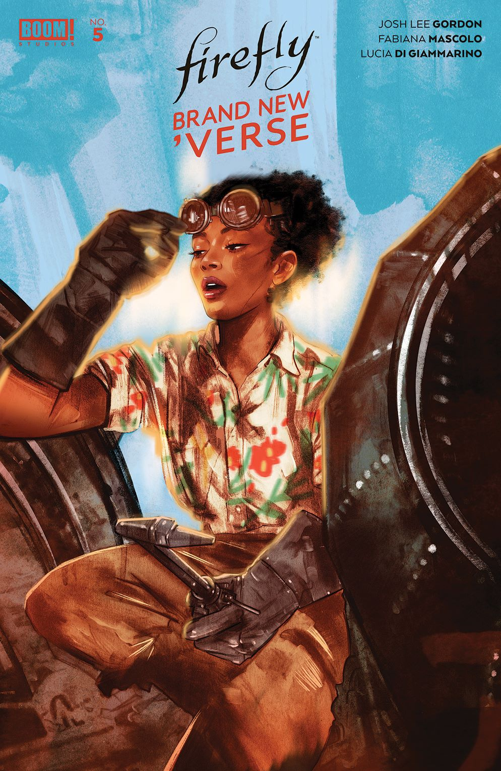 Firefly_BrandNewVerse_005_Cover_C_Variant ComicList: BOOM! Studios New Releases for 07/21/2021