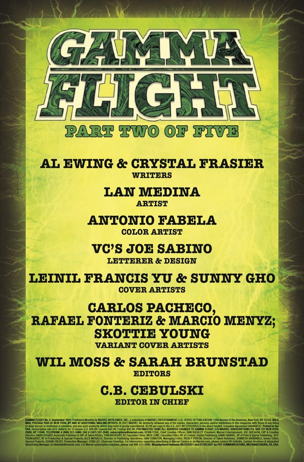 GAMMAF2021002_Preview-2 ComicList Previews: GAMMA FLIGHT #2 (OF 5)
