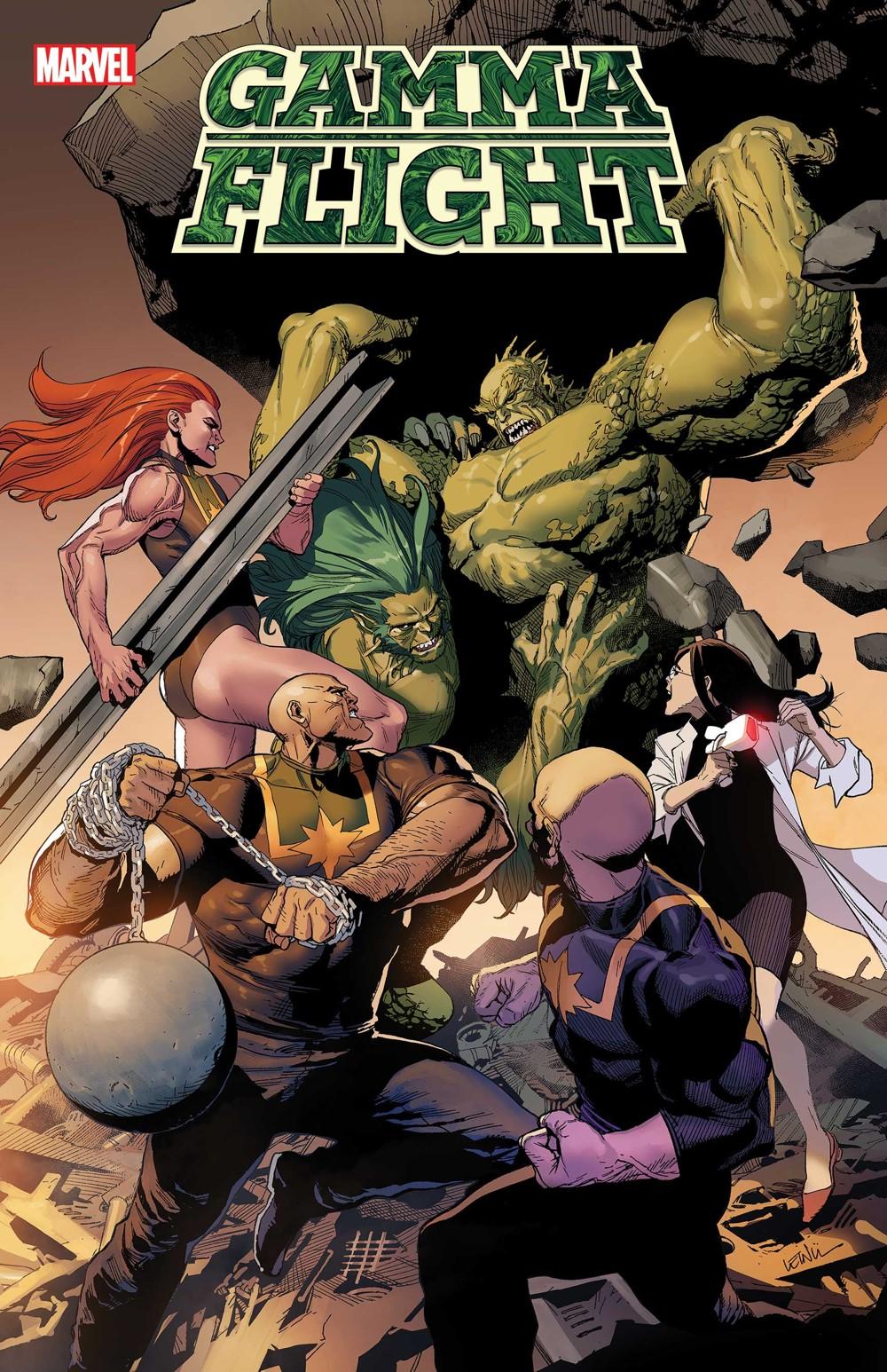GAMMAFLIGHT2021005_cvr Marvel Comics October 2021 Solicitations