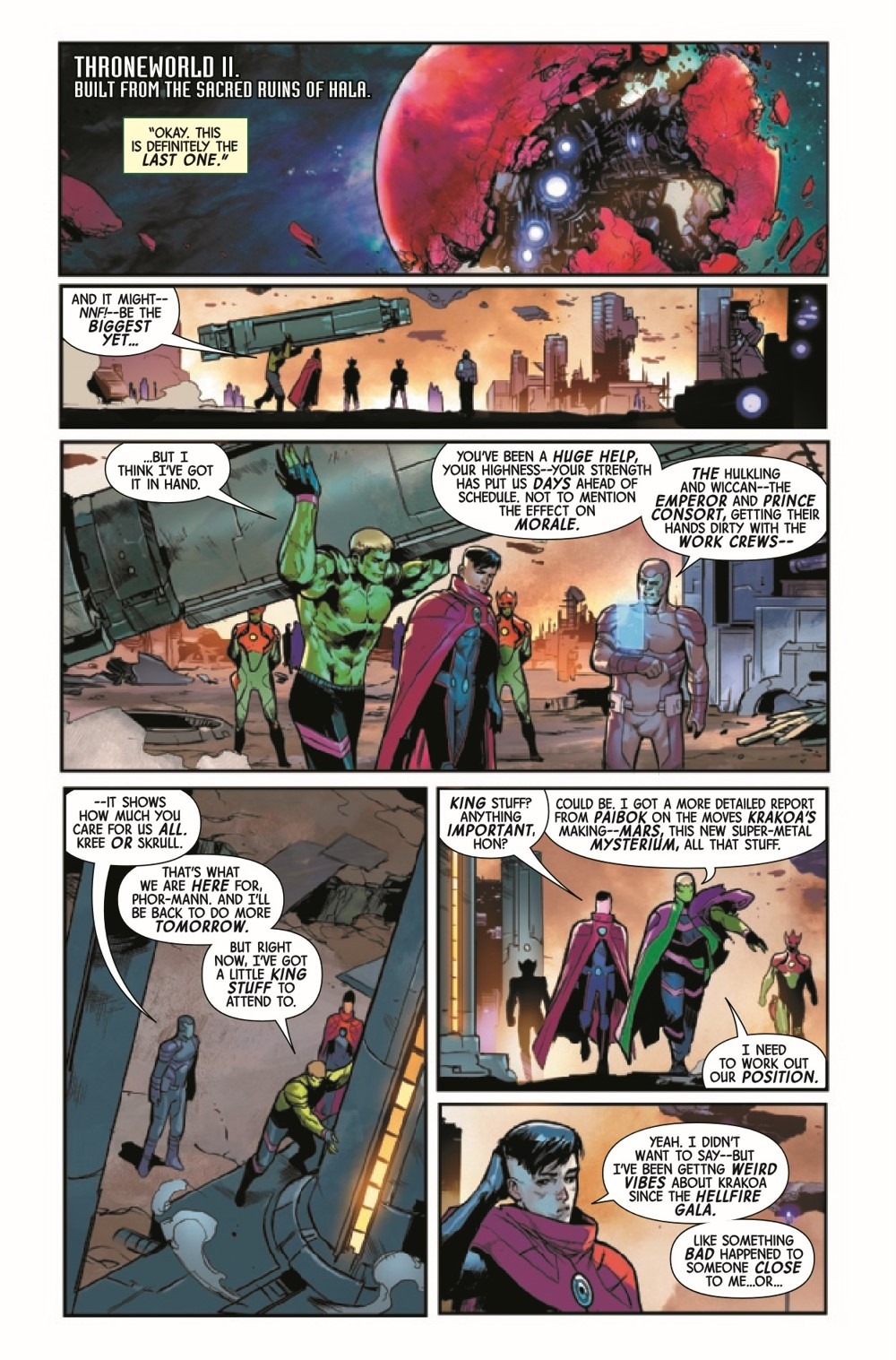 GARGAL2020016_Preview-3 ComicList Previews: GUARDIANS OF THE GALAXY #16