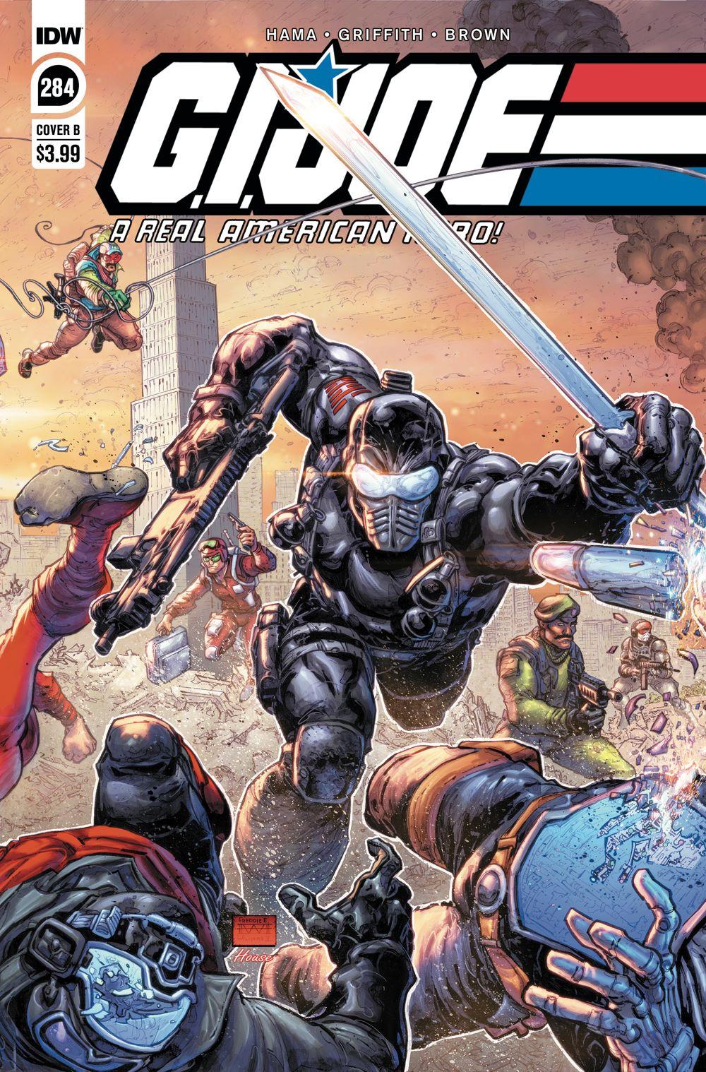 GIJoeRAH284-coverB ComicList Previews: G.I. JOE A REAL AMERICAN HERO #284