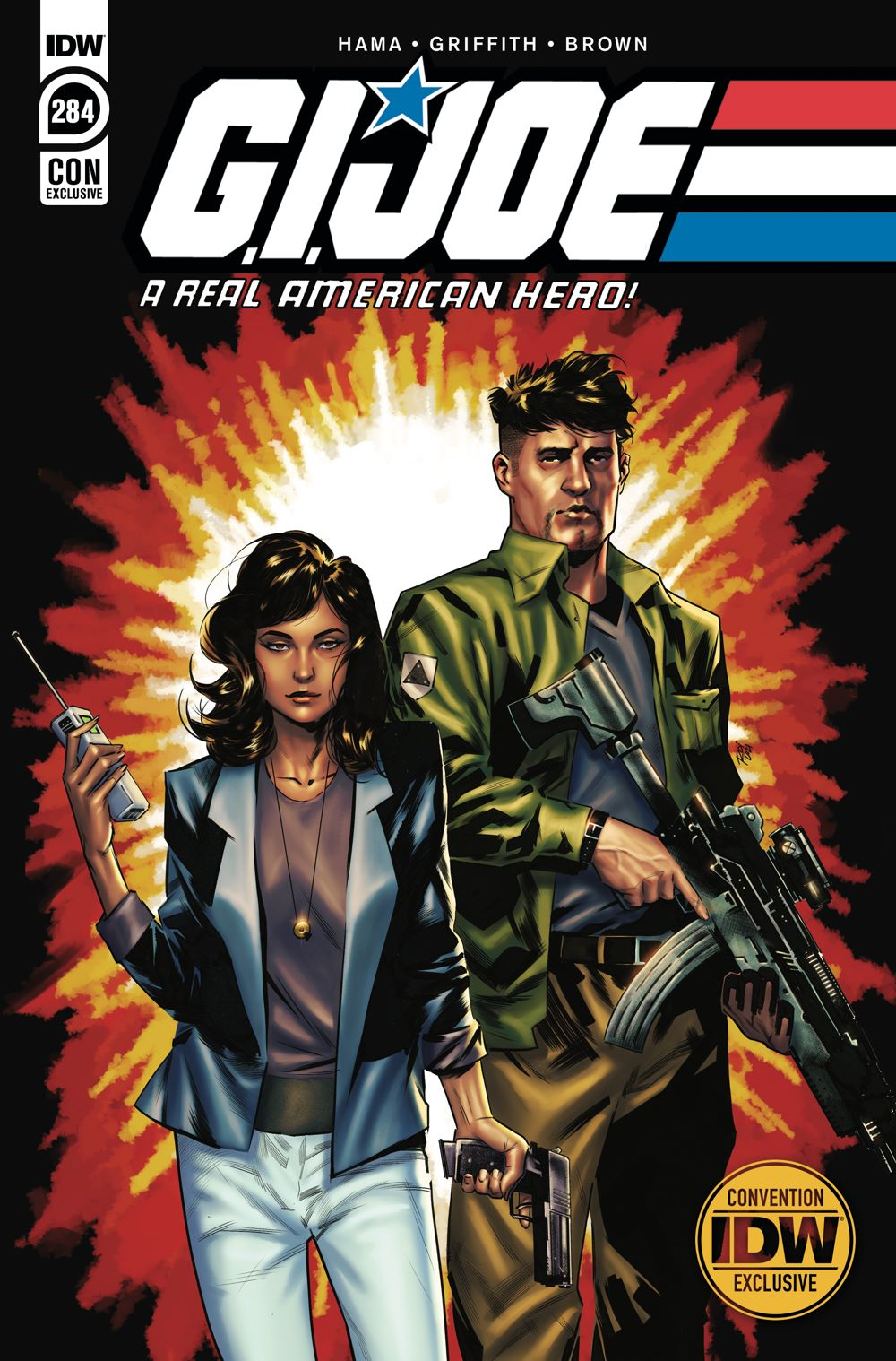 GIJoeRAH284-coverCON_B ComicList Previews: G.I. JOE A REAL AMERICAN HERO #284