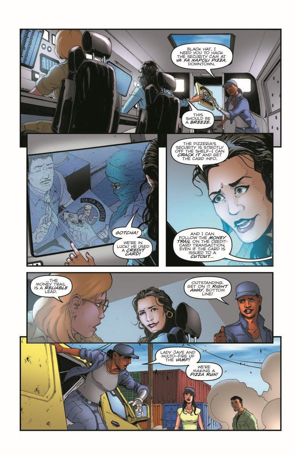 GIJoeRAH284-pr-7 ComicList Previews: G.I. JOE A REAL AMERICAN HERO #284
