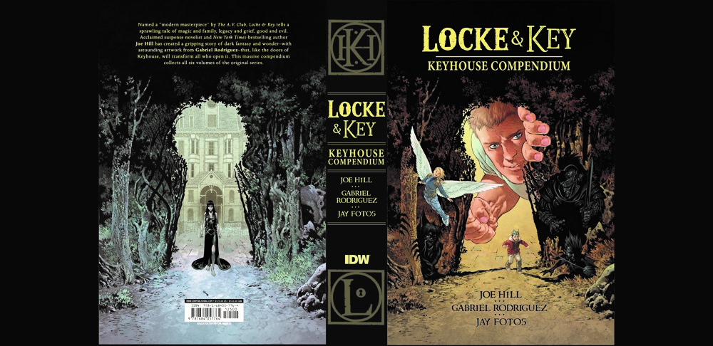 GR-LnK-KeyhouseCompendium_int-1-199-1 ComicList Previews: LOCKE AND KEY KEYHOUSE COMPENDIUM HARDCOVER COLLECTION