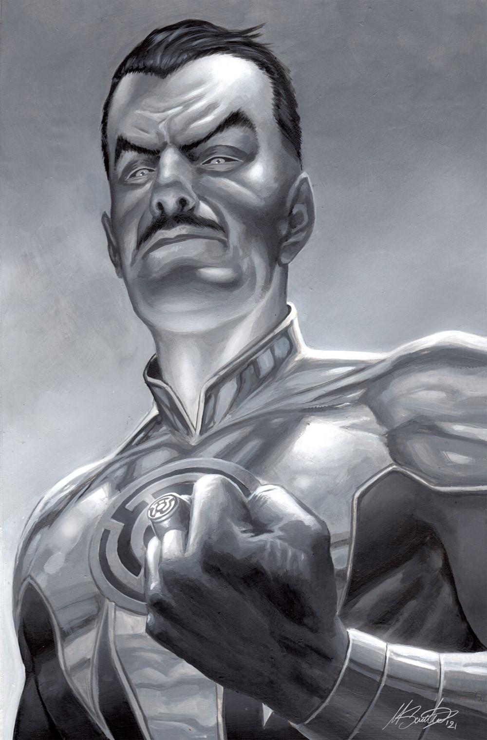 GreenLantern-07Variant DC Comics October 2021 Solicitations