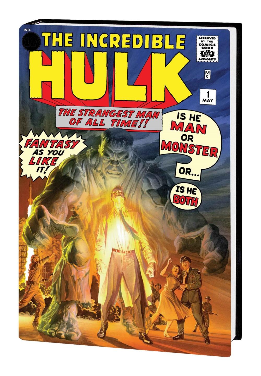HULKOMI_V1_HC_ROSS Marvel Comics October 2021 Solicitations