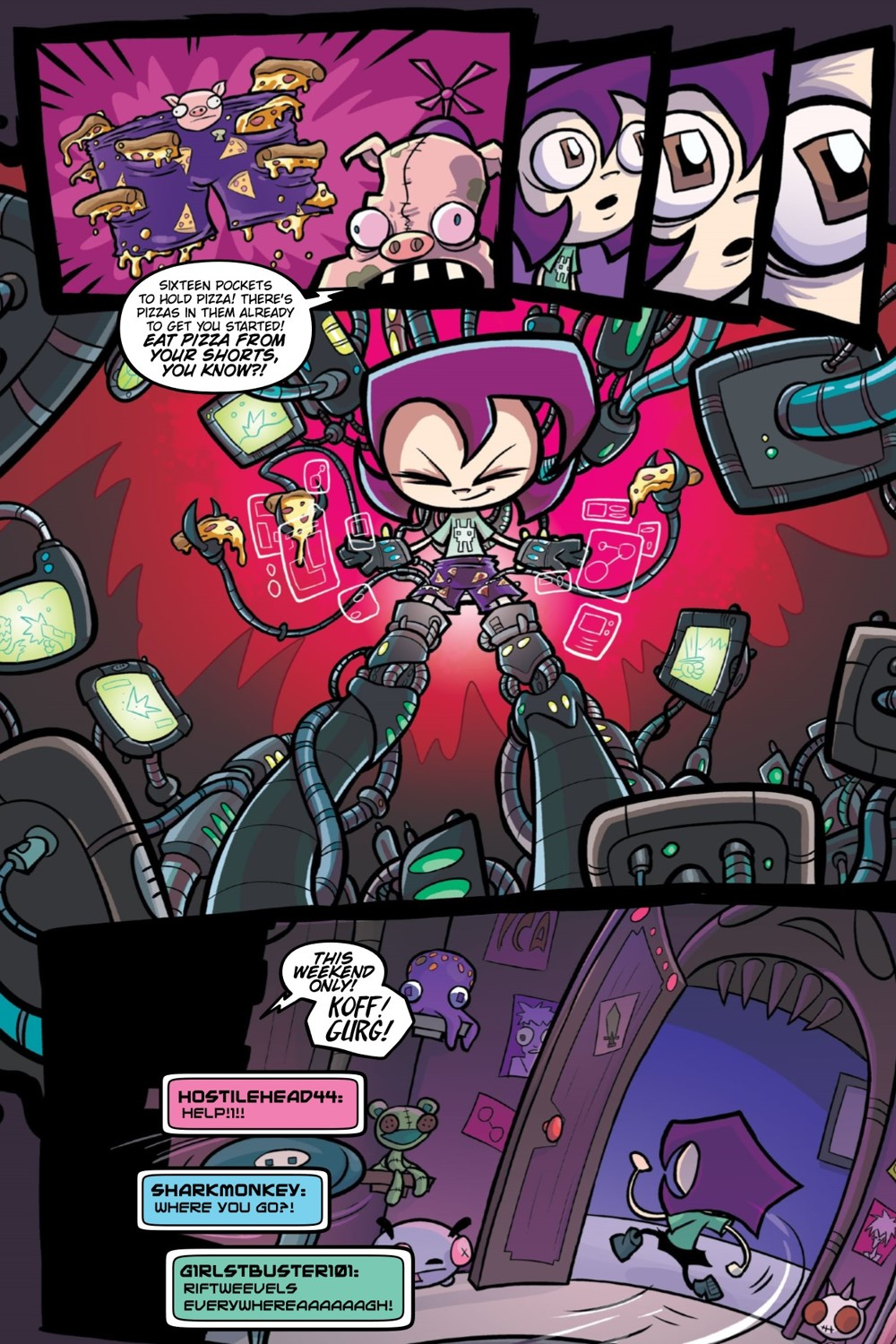 INVADERZIM-BEST-OF-CREATURES-REFERENCE-009 ComicList Previews: INVADER ZIM BEST OF CREATURES VOLUME 1 TP