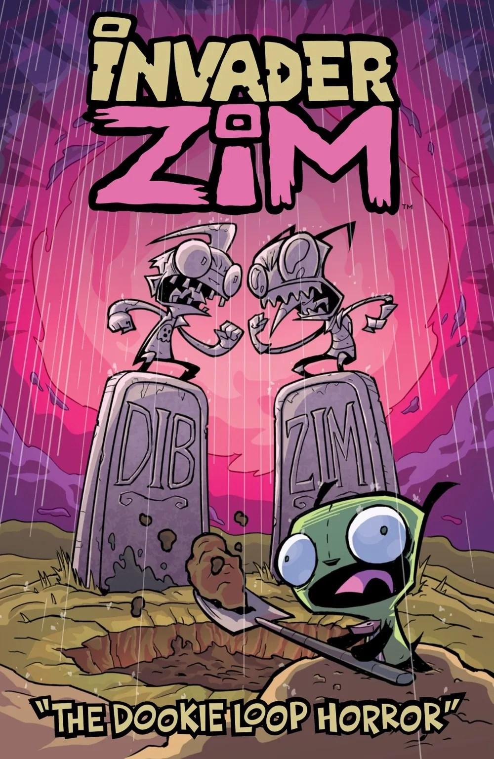 INVADERZIM-DOOKIE-LOOP-HORROR-MARKETING-01 ComicList Previews: INVADER ZIM THE DOOKIE LOOP HORROR #1