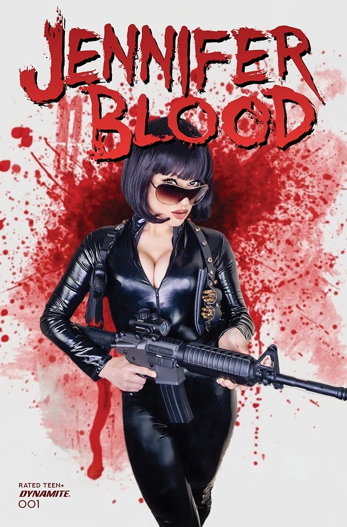 JenniferBlood-01-01051-E-Cosplay-1 Dynamite Entertainment October 2021 Solicitations