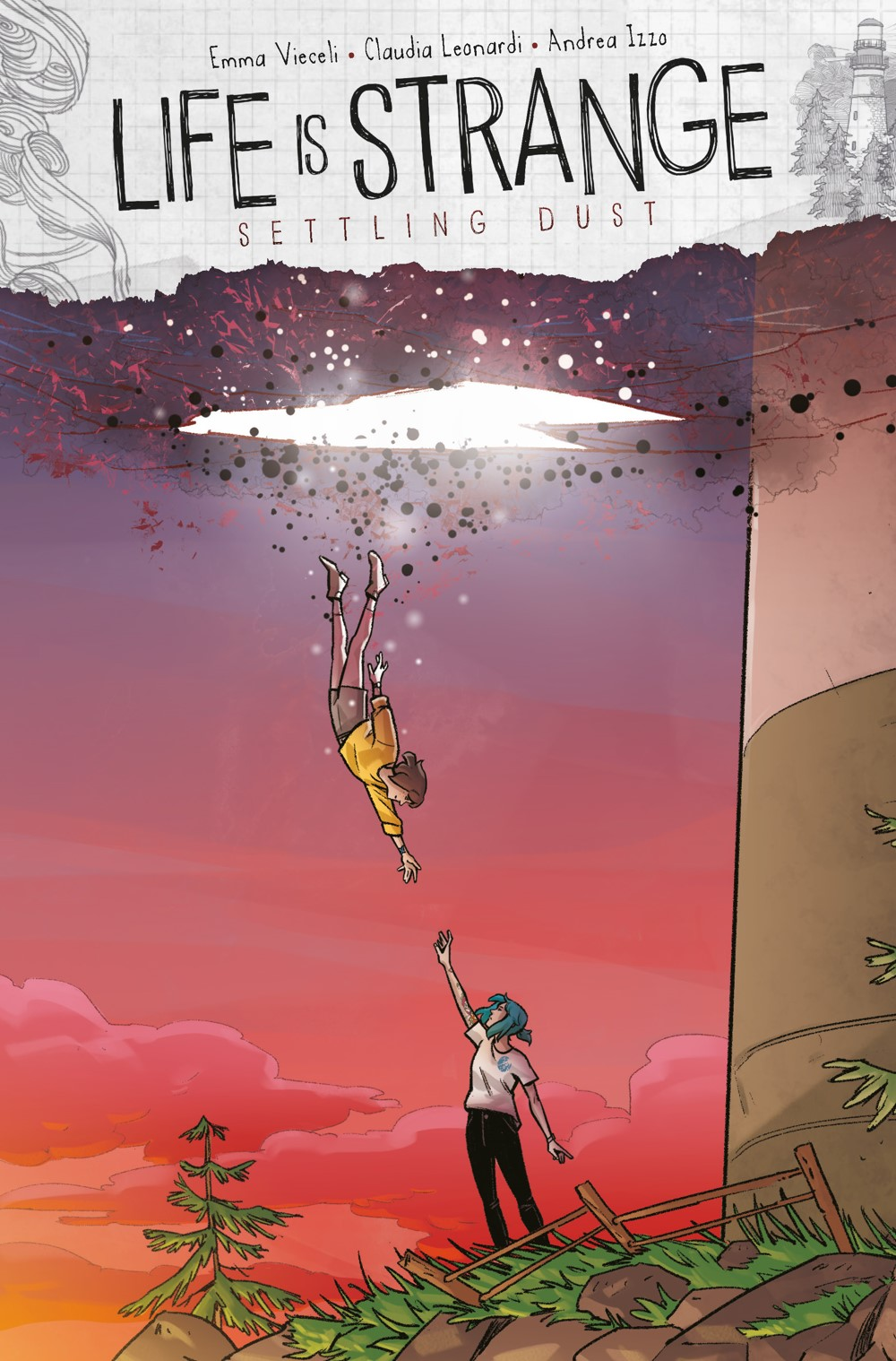 LIFE-IS-STRANGE-SETTLING-DUST-2-CVR-C-LEONARDI Titan Comics October 2021 Solicitations