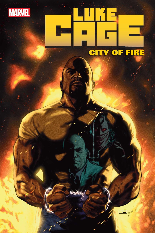 LUKECAGECITYFIRE2021001_cvr Marvel Comics October 2021 Solicitations