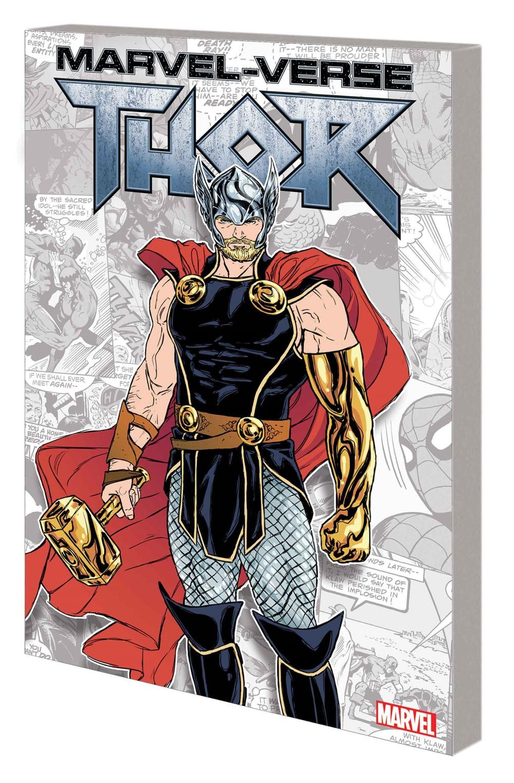 MARVEL_VERSE_THOR_GN_TPB Marvel Comics October 2021 Solicitations