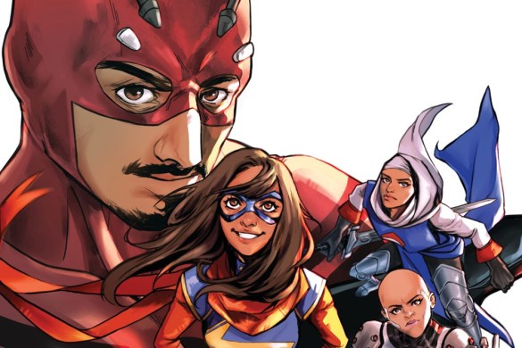MARVOICESID2021001_AHMED MARVEL'S VOICES: IDENTITY #1 covers to feature Asian super heroes
