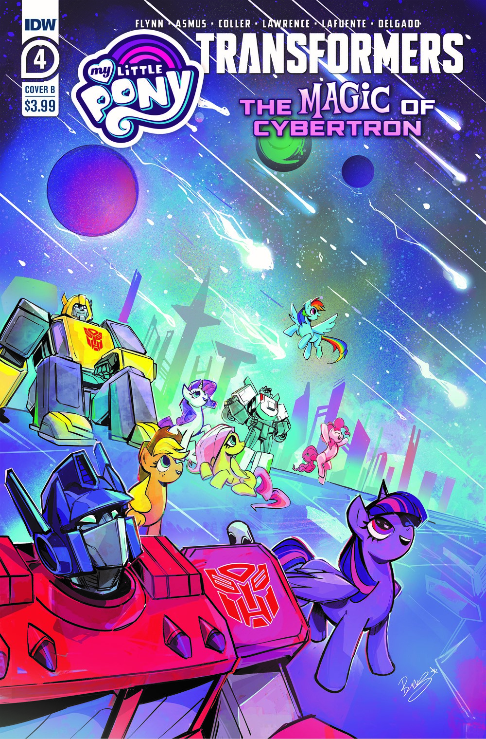 MLP_TF04-coverB ComicList Previews: MY LITTLE PONY TRANSFORMERS II #4 (OF 4)