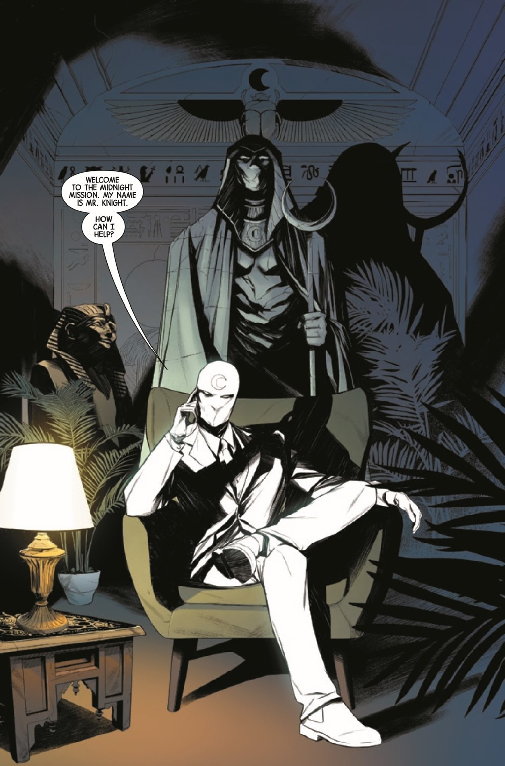 MOONKN2021001_Preview-3 ComicList Previews: MOON KNIGHT #1
