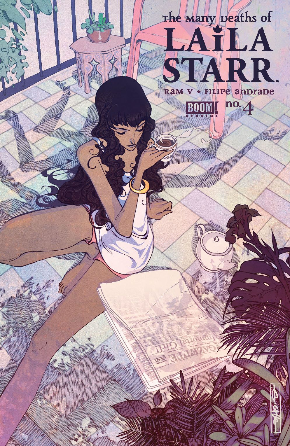 ManyDeathsLailaStarr_004_Cover_C_Variant ComicList: BOOM! Studios New Releases for 07/21/2021