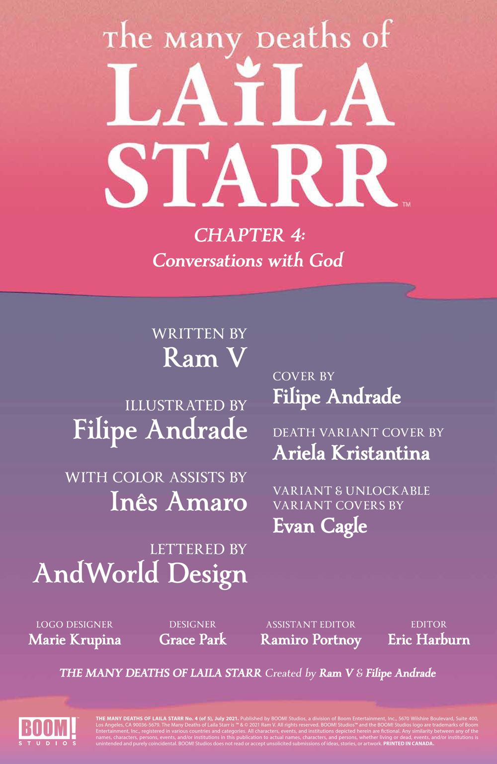 ManyDeathsLailaStarr_004_PRESS_2 ComicList Previews: MANY DEATHS OF LAILA STARR #4 (OF 5)