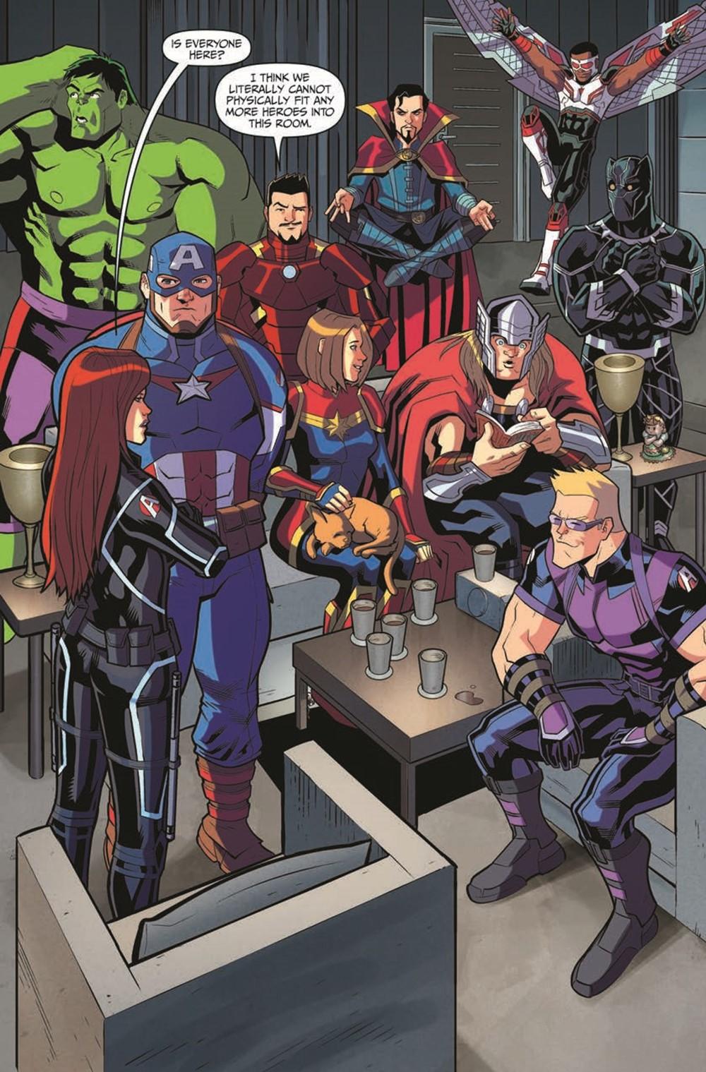 MarvelAction_Avengers_Vol.1_OffTheClock_TPB_pr-4 ComicList Previews: MARVEL ACTION AVENGERS VOLUME 5 OFF THE CLOCK TP