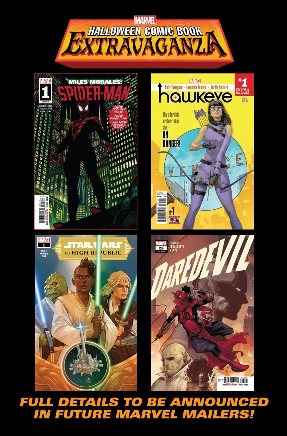 Marvel_Halloween_Extravaganza MARVEL HALLOWEEN COMIC BOOK EXTRAVAGANZA is returning