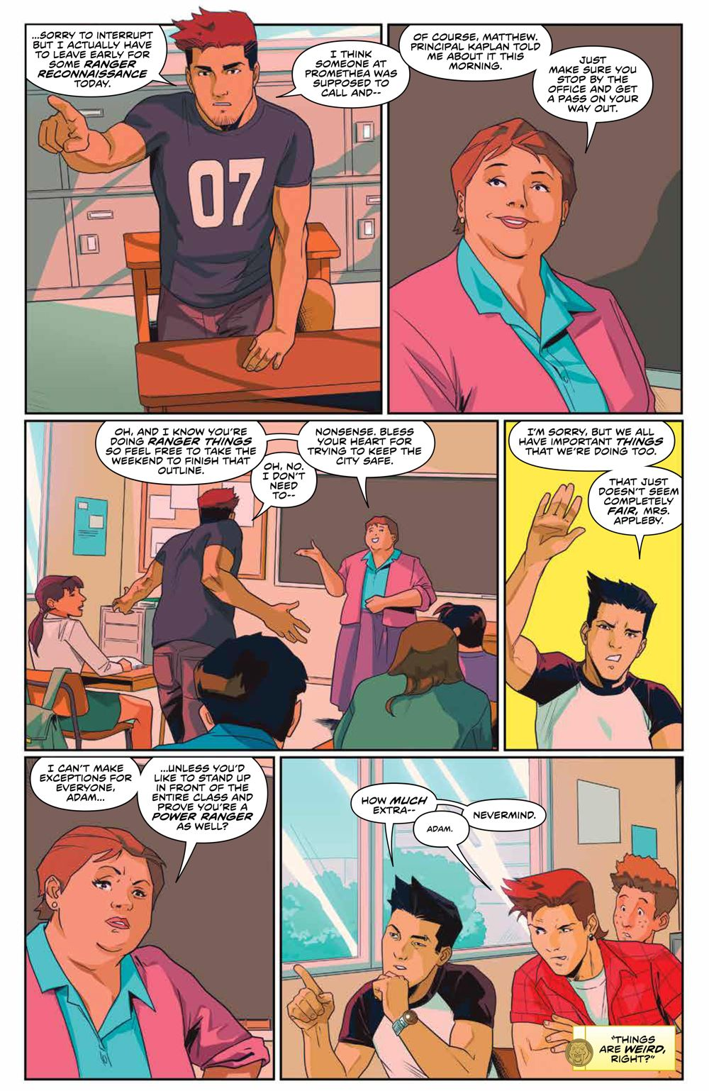 Mighty_Morphin_009_PRESS_7 ComicList Previews: MIGHTY MORPHIN #9