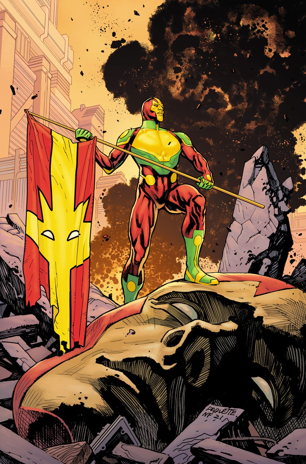 MisterMiracle_Cover_006_NFC DC Comics October 2021 Solicitations