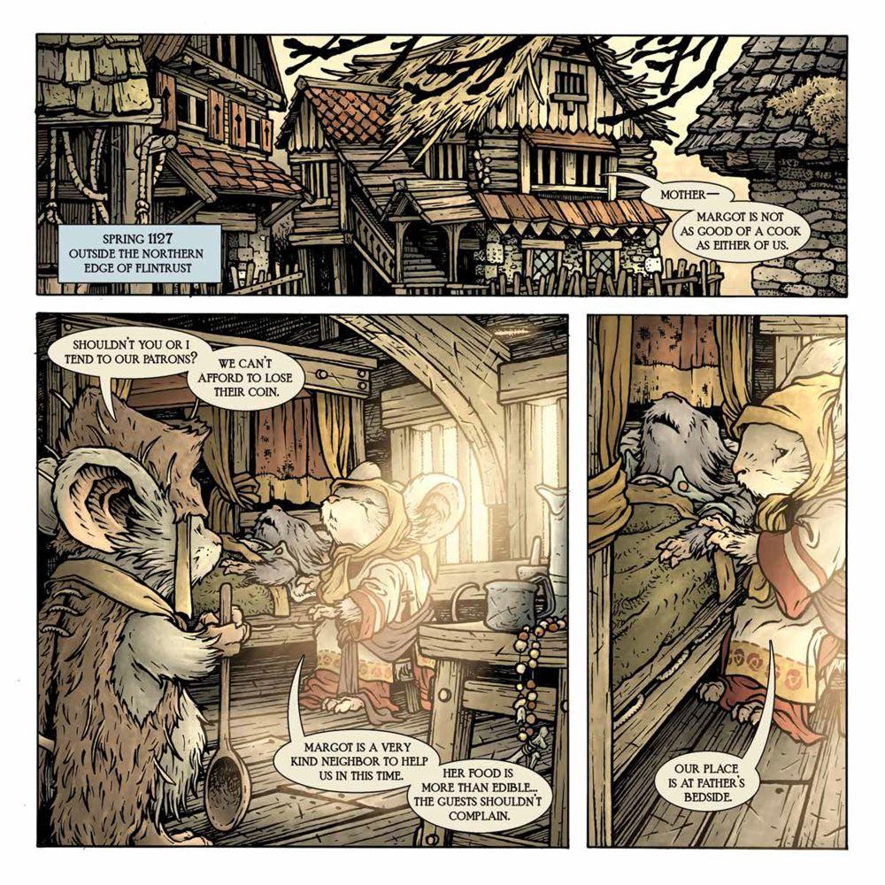 MouseGuard_OwlhenCaregiver_001_PRESS_3 ComicList Previews: MOUSE GUARD THE OWLHEN CAREGIVER #1