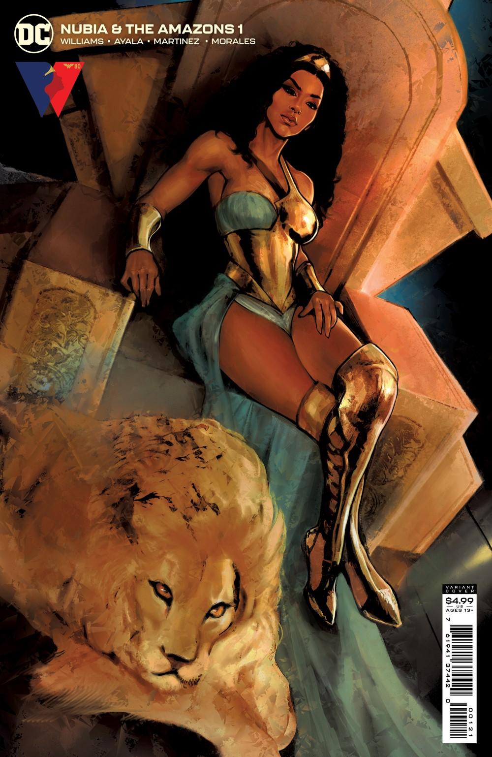 NUBIAATA_Cv1_var_00121 DC Comics October 2021 Solicitations