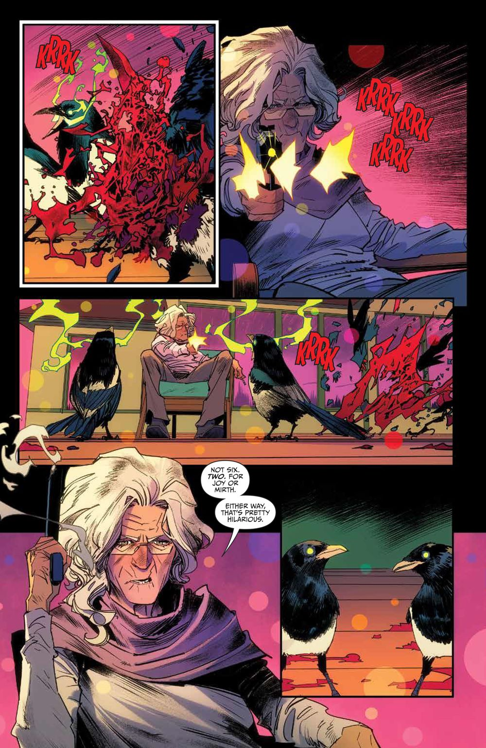 OnceFuture_v3_SC_PRESS_9 ComicList Previews: ONCE AND FUTURE VOLUME 3 THE PARLIAMENT OF MAGPIES TP