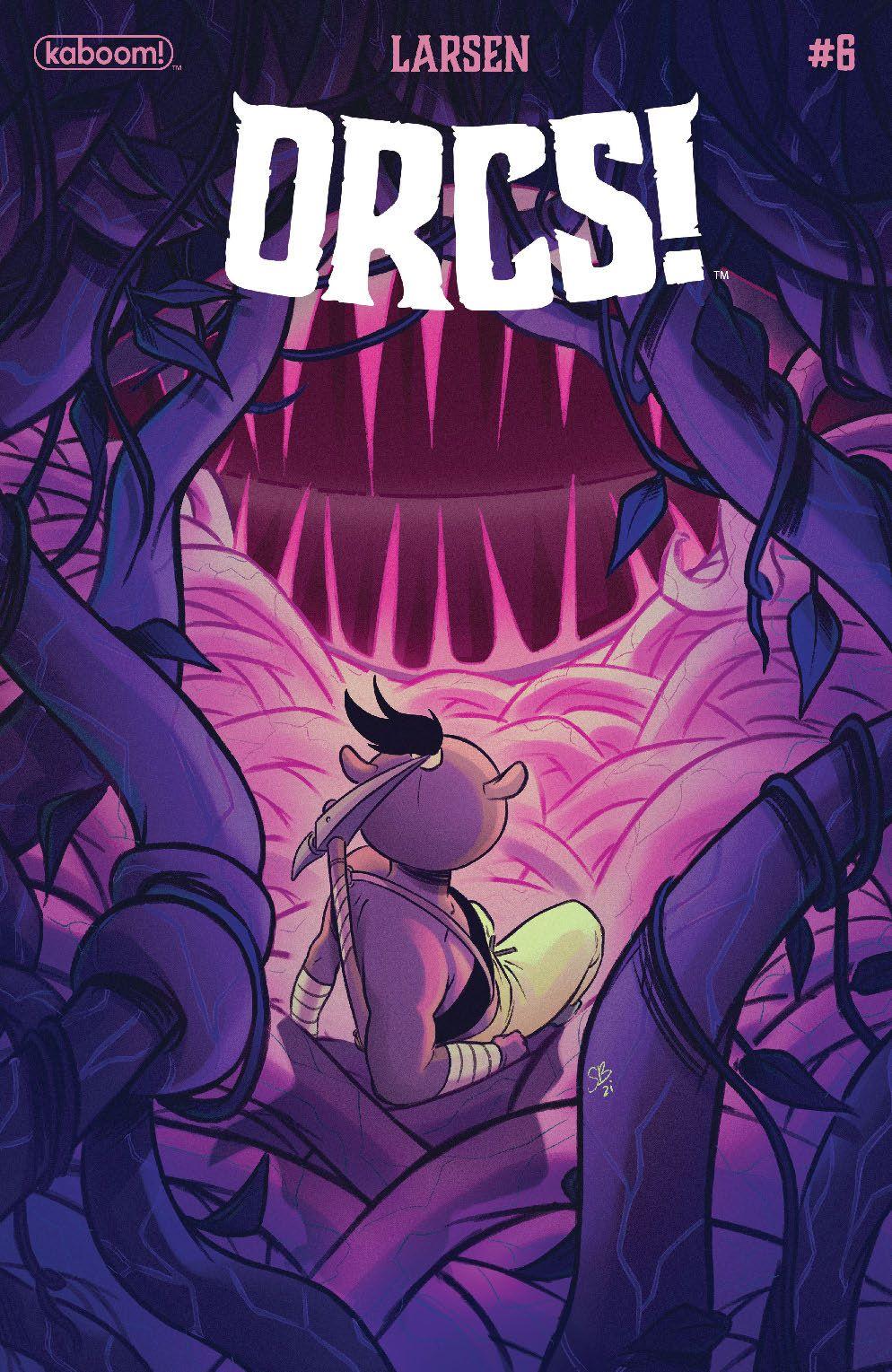 Orcs_006_Cover_B_Variant ComicList Previews: ORCS #6 (OF 6)