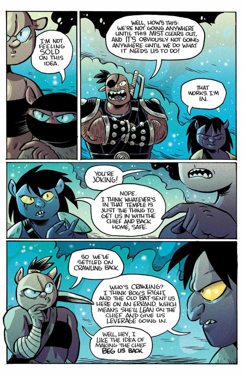 Orcs_006_PRESS_5 ComicList Previews: ORCS #6 (OF 6)