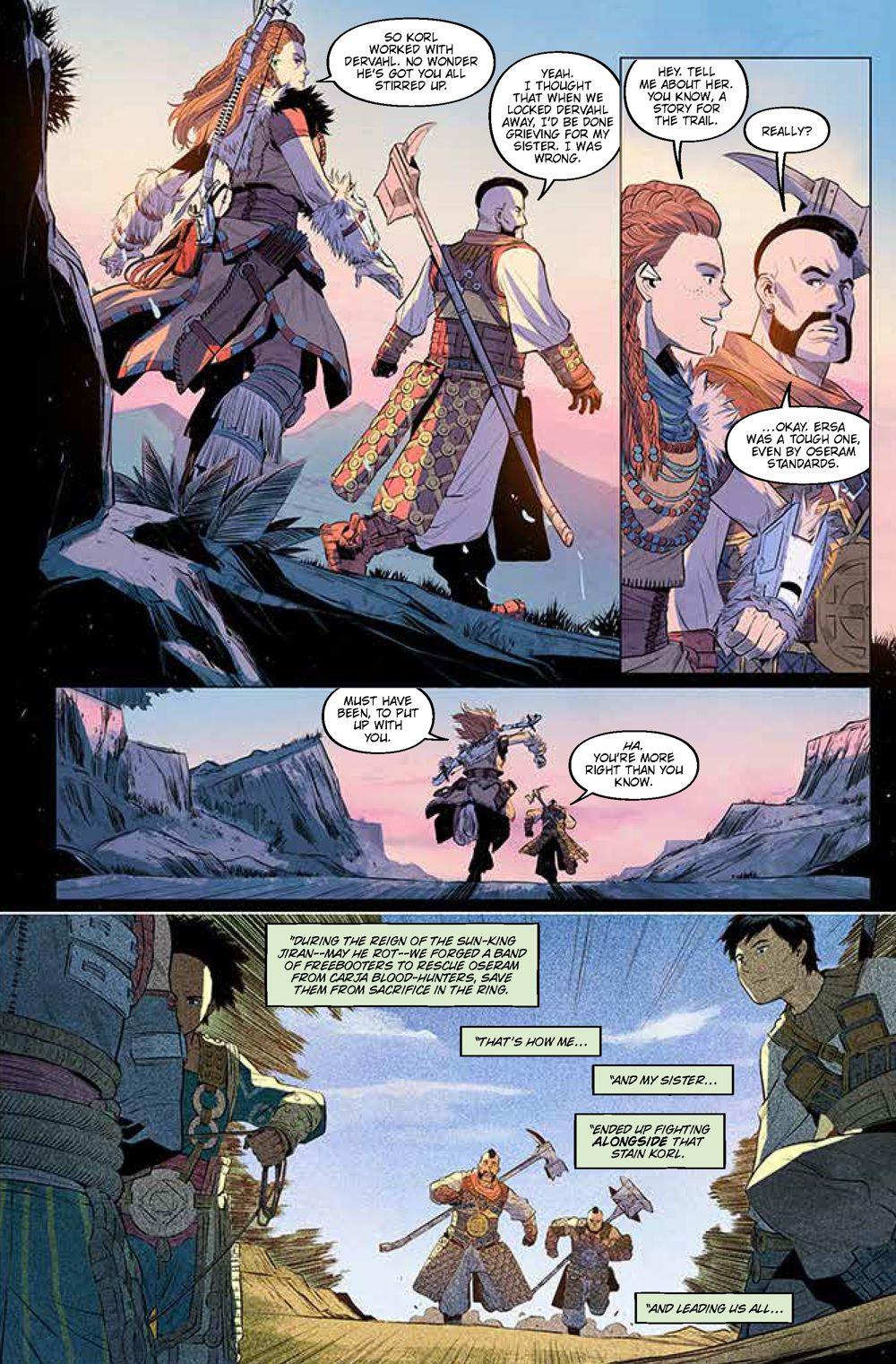 Pages-from-HorizonZeroDawn2.1_2 ComicList Previews: HORIZON ZERO DAWN LIBERATION #1