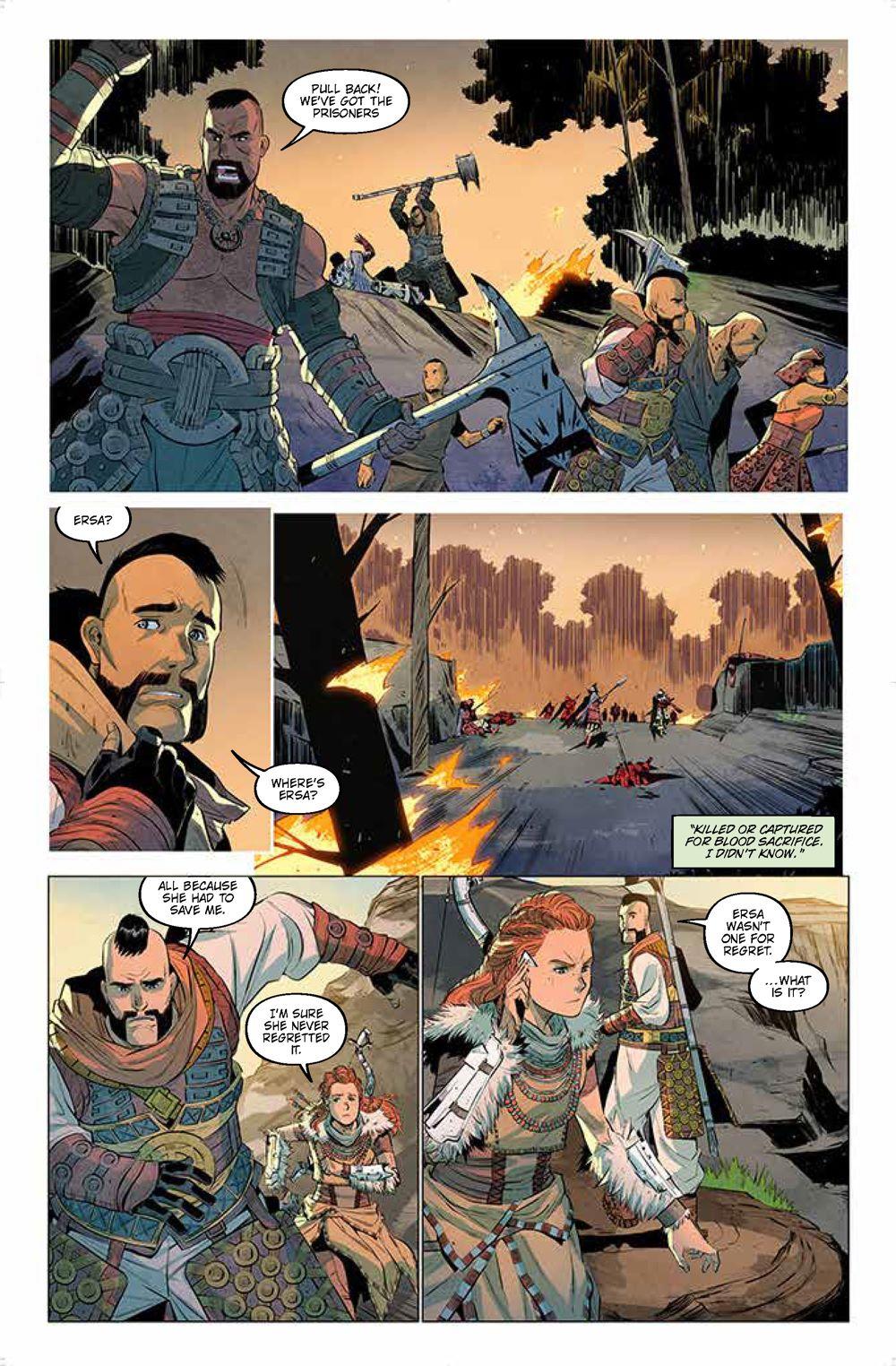 Pages-from-HorizonZeroDawn2.1_3 ComicList Previews: HORIZON ZERO DAWN LIBERATION #1