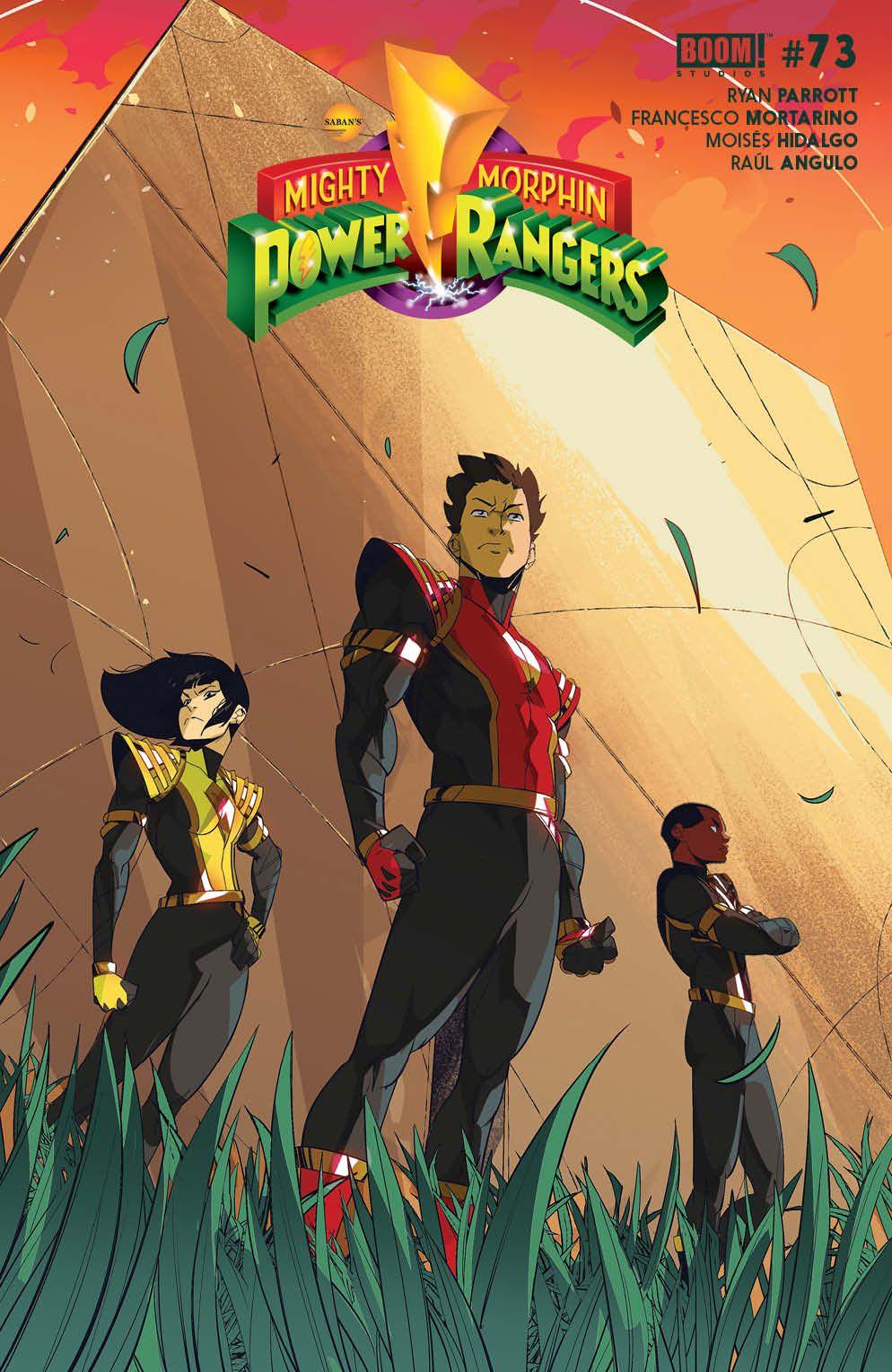 PowerRangers_009_Cover_B_Legacy_Variant ComicList Previews: POWER RANGERS #9