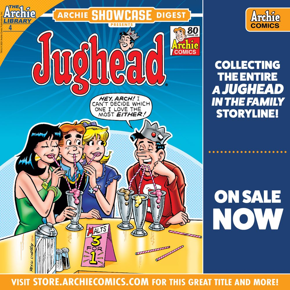 Preorder_Graphic_JUL_2021_OSN_04 ComicList Previews: ARCHIE SHOWCASE DIGEST #4