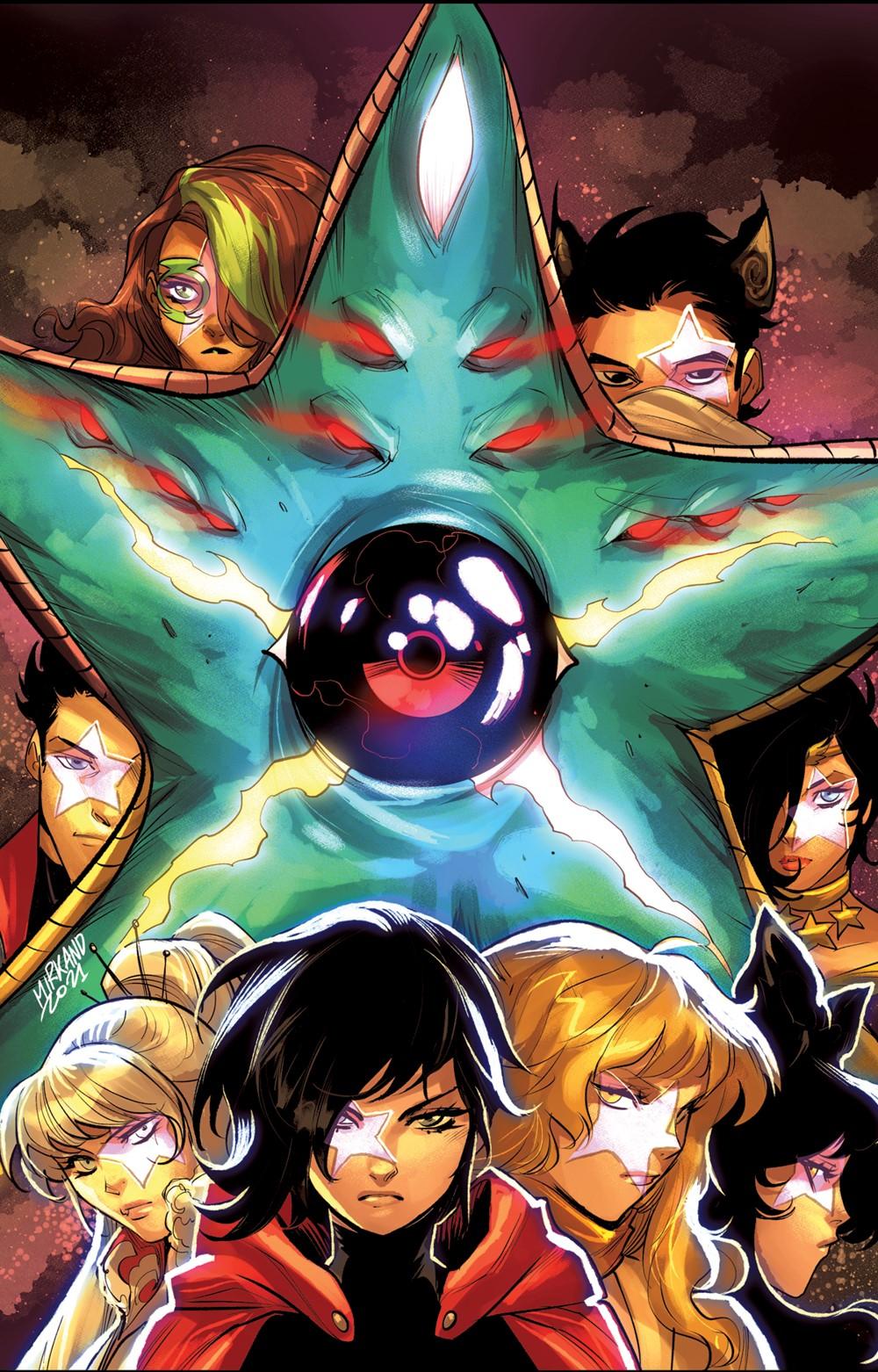 RWBY-JL-7-Main DC Comics October 2021 Solicitations