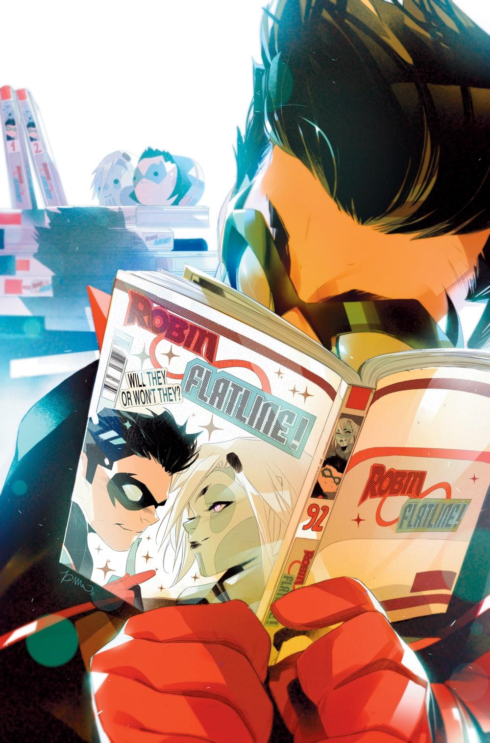 Robin-7-Main-Cover DC Comics October 2021 Solicitations