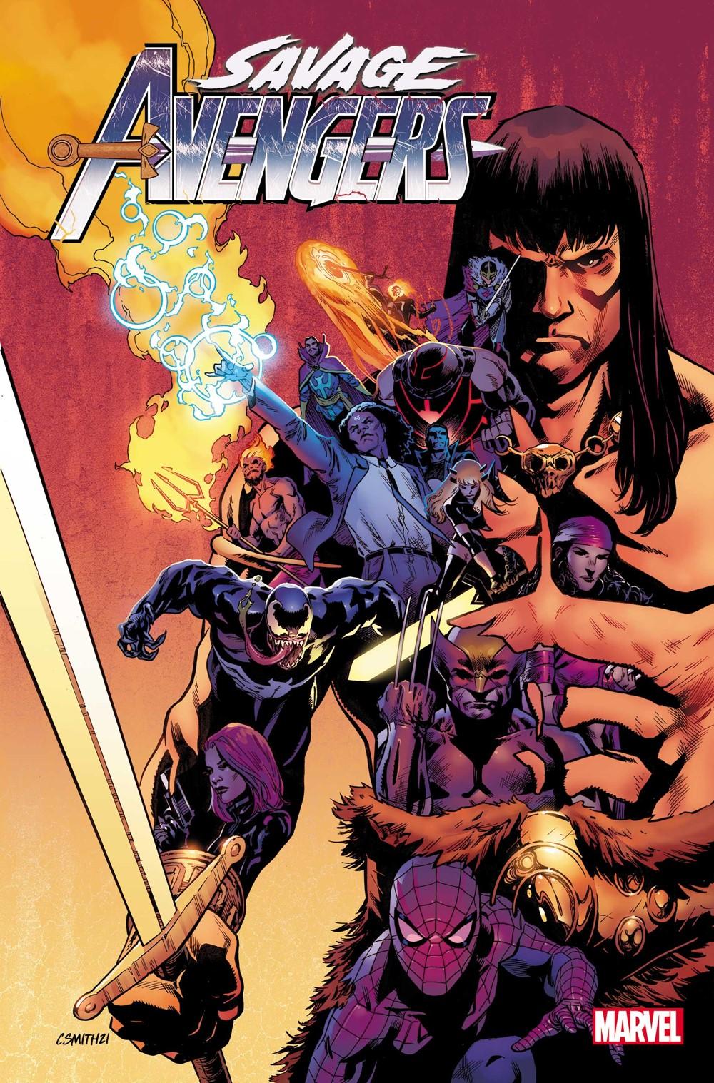 SAVAVEN2019025_Smith-Var-Cov Marvel Comics October 2021 Solicitations