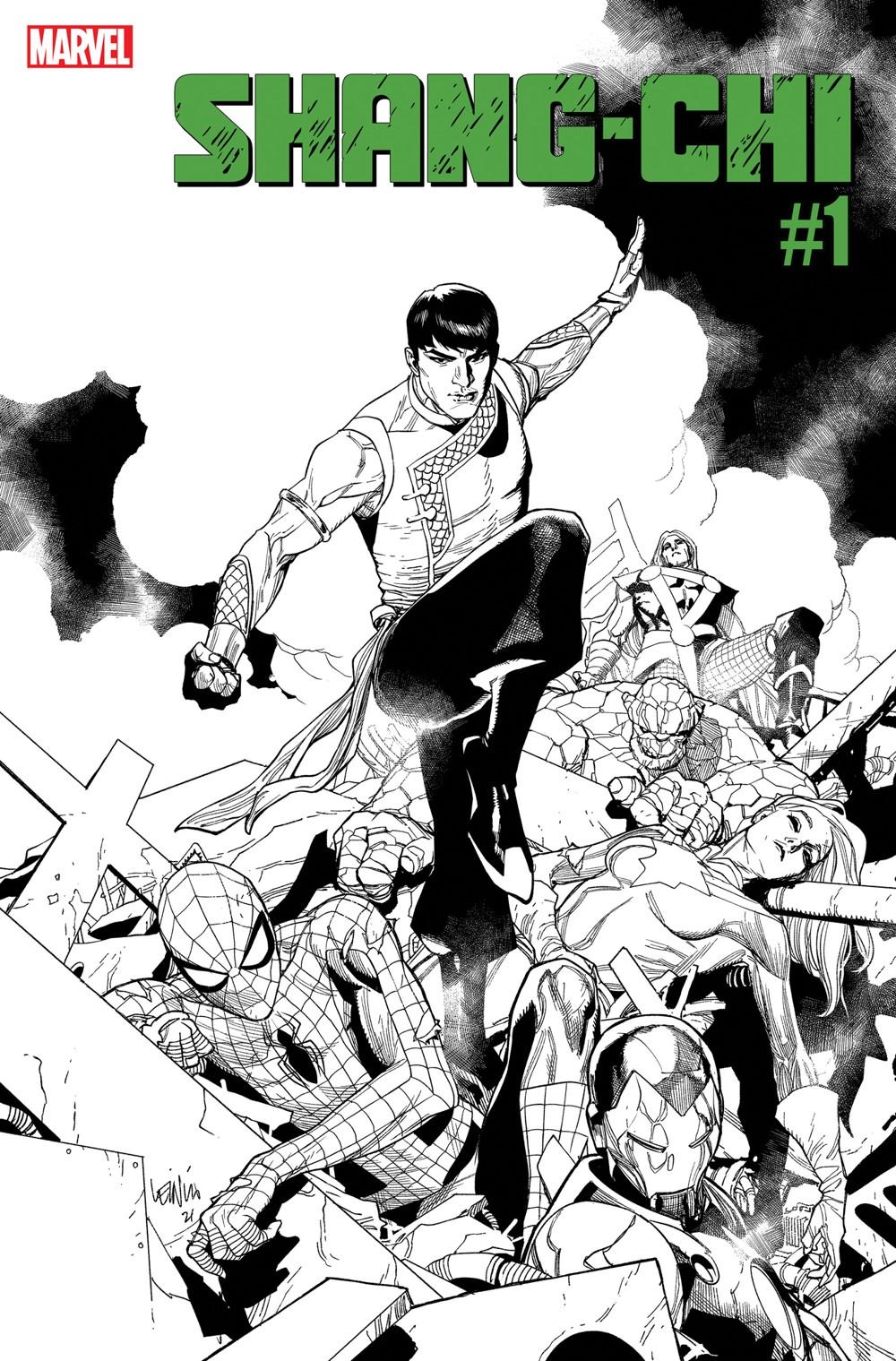 SHANGCHI2021001_SecondPrint ComicList: Marvel Comics New Releases for 08/04/2021