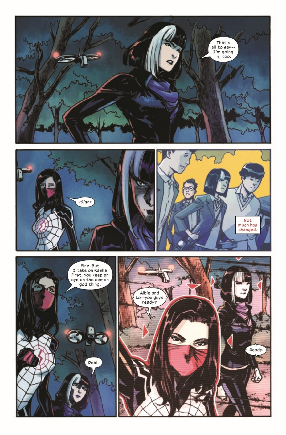 SILK2021005_Preview-4 ComicList Previews: SILK #5 (OF 5)