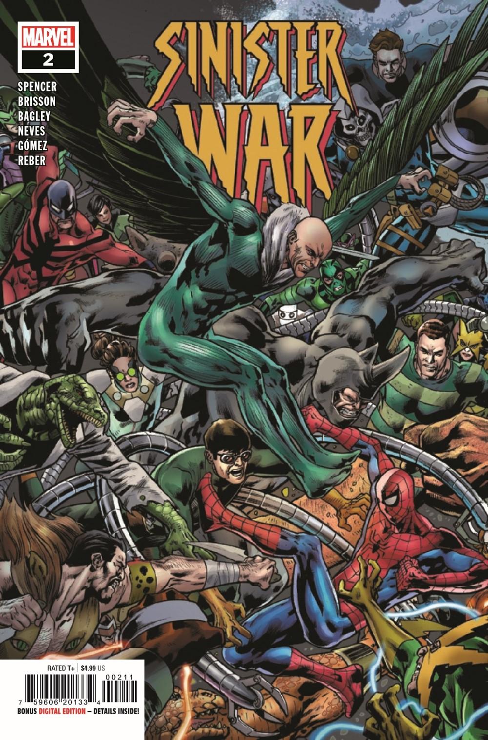 SINISTERWAR2021002_Preview-1 ComicList Previews: SINISTER WAR #2 (OF 4)