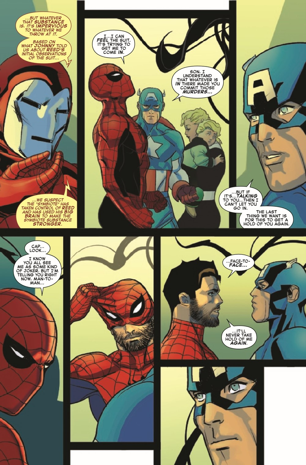 SMSPIDERSHADOW2021004_Preview-4 ComicList Previews: SPIDER-MAN SPIDER'S SHADOW #4 (OF 5)